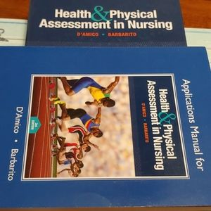 X2 Health& Physical Assessment Books